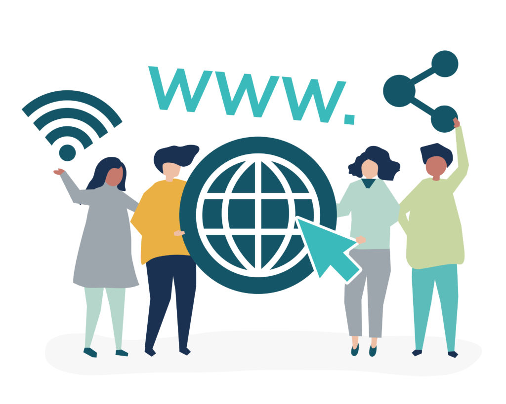 renseigner un lien vers son site web